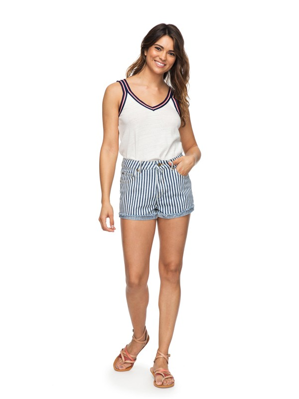 0 Holbrook Denim Shorts Blue ERJDS03168 Roxy