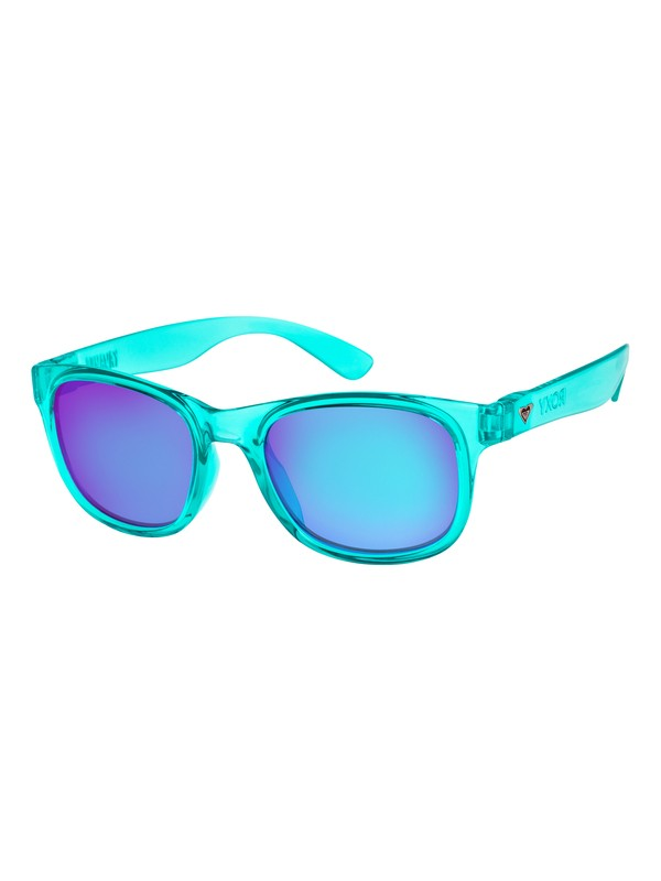 0 Runaway - Lunettes de soleil pour Femme Bleu ERJEY03049 Roxy