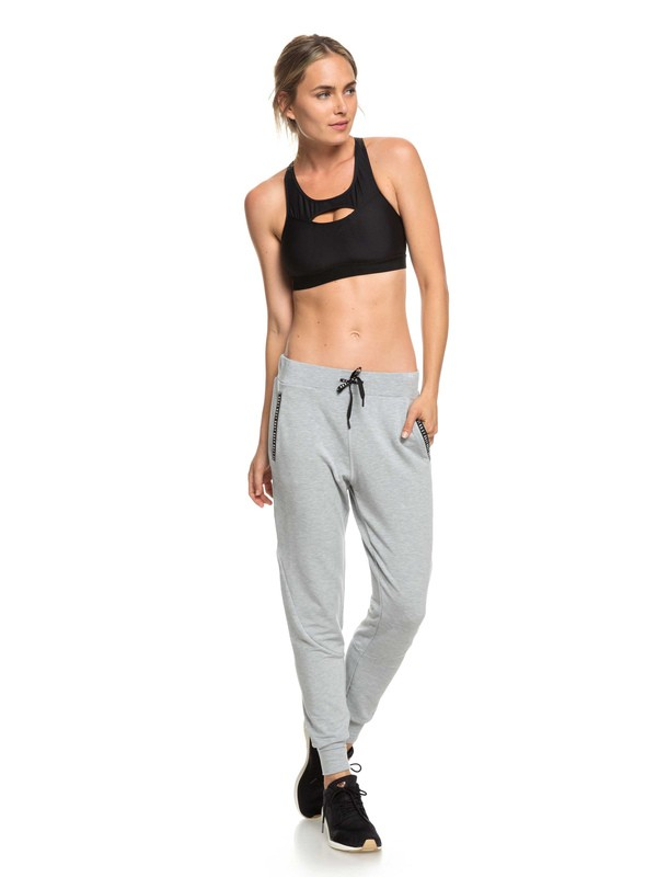0 Everlasting Hours - Yoga Bottoms for Women Grey ERJFB03207 Roxy