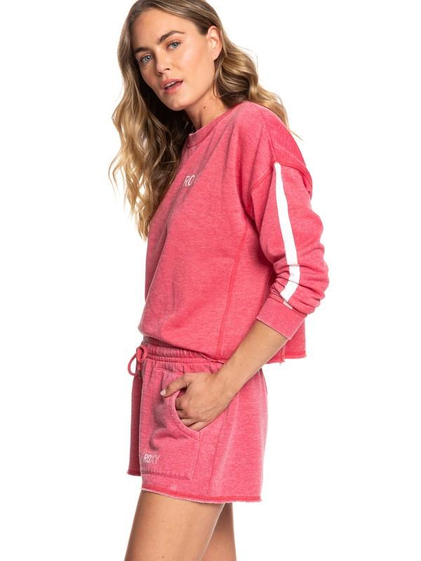 0 Rebel Heart B Sweat Shorts Pink ERJFB03224 Roxy