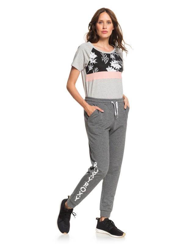 0 Waves Odity - Pantalon de jogging pour Femme Noir ERJFB03233 Roxy