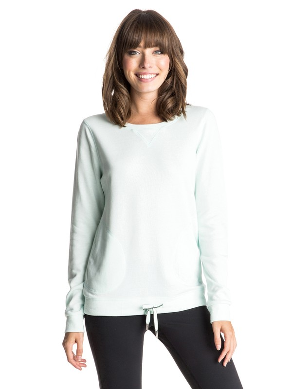 0 Loungin - Sweatshirt Bleu ERJFT03225 Roxy