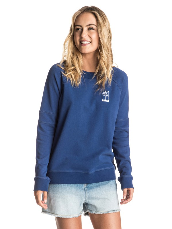 0 Hollow Dance B Pullover Sweatshirt  ERJFT03466 Roxy
