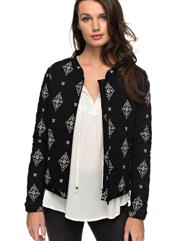 0 Discovering Twins - Jersey Jacke für Frauen Schwarz ERJFT03646 Roxy