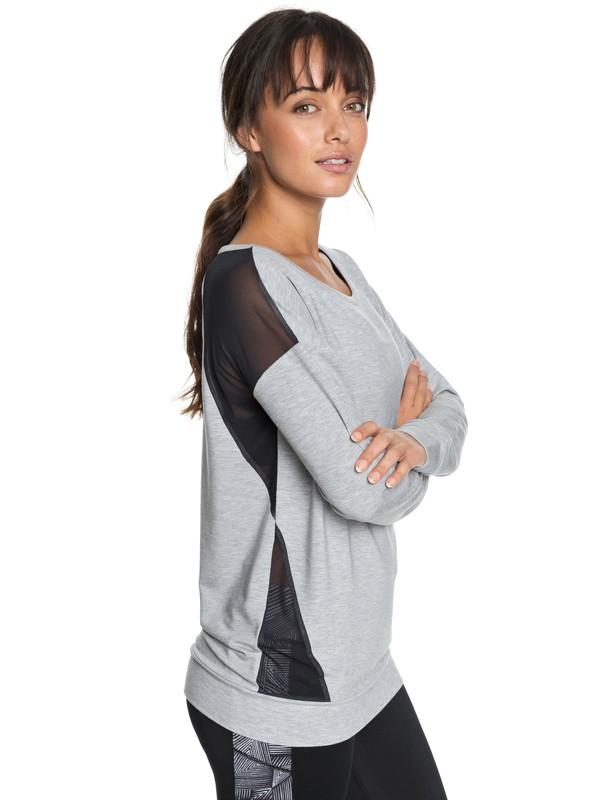 0 Under Moonlight - Sweatshirt pour Femme  ERJFT03780 Roxy