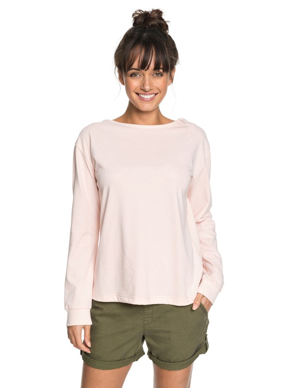 0 Journey On Wrap Sweatshirt Pink ERJFT03807 Roxy