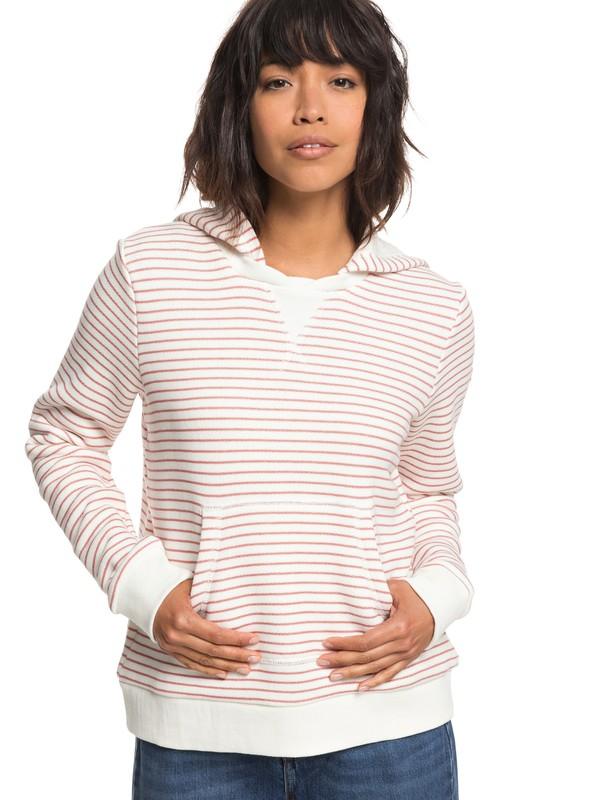 0 Prairie Rose - Sweat à capuche pour Femme Rose ERJFT03818 Roxy