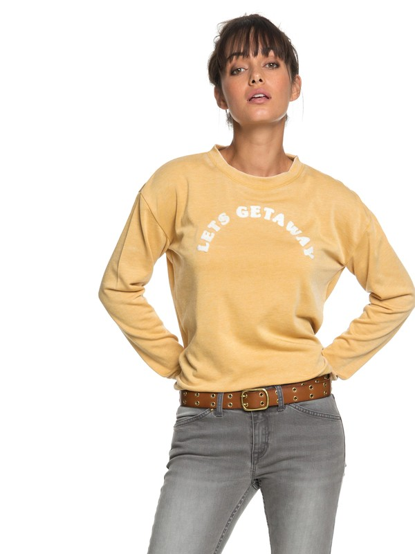0 All At Sea A Sweatshirt  ERJFT03848 Roxy