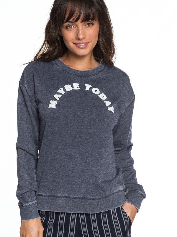0 All At Sea B Sweatshirt Blue ERJFT03849 Roxy