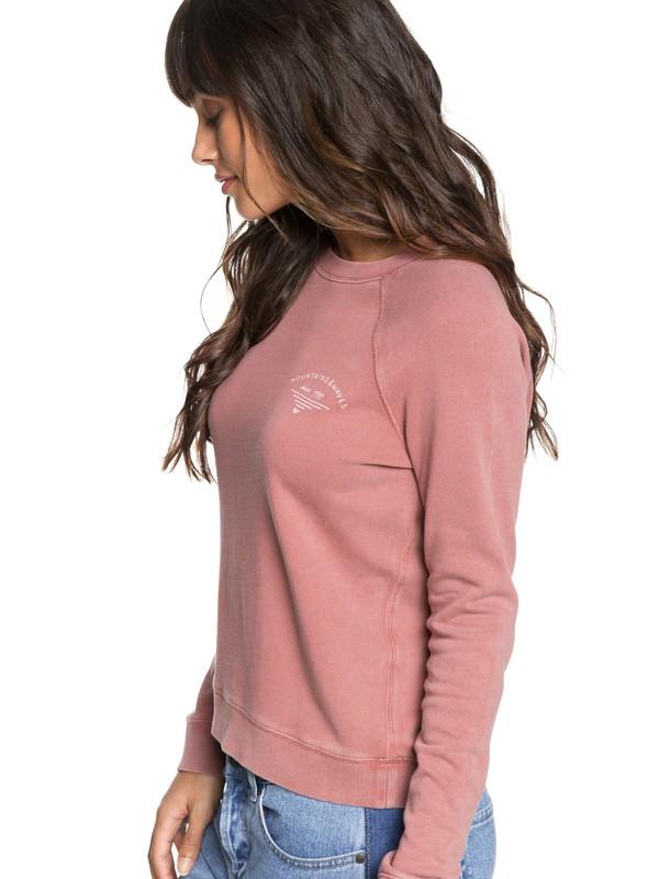 0 Highway Heights B Sweatshirt Pink ERJFT03851 Roxy
