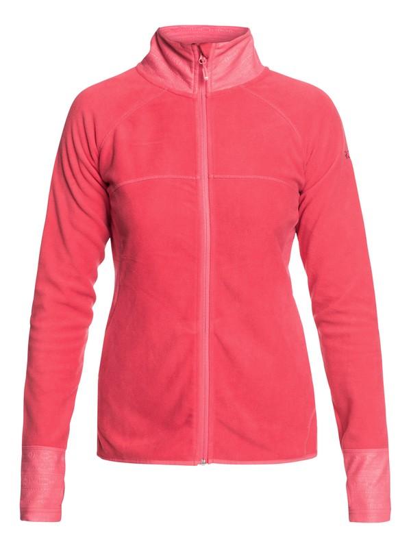 0 Harmony - Polar técnico con cremallera para Mujer Rosa ERJFT03857 Roxy