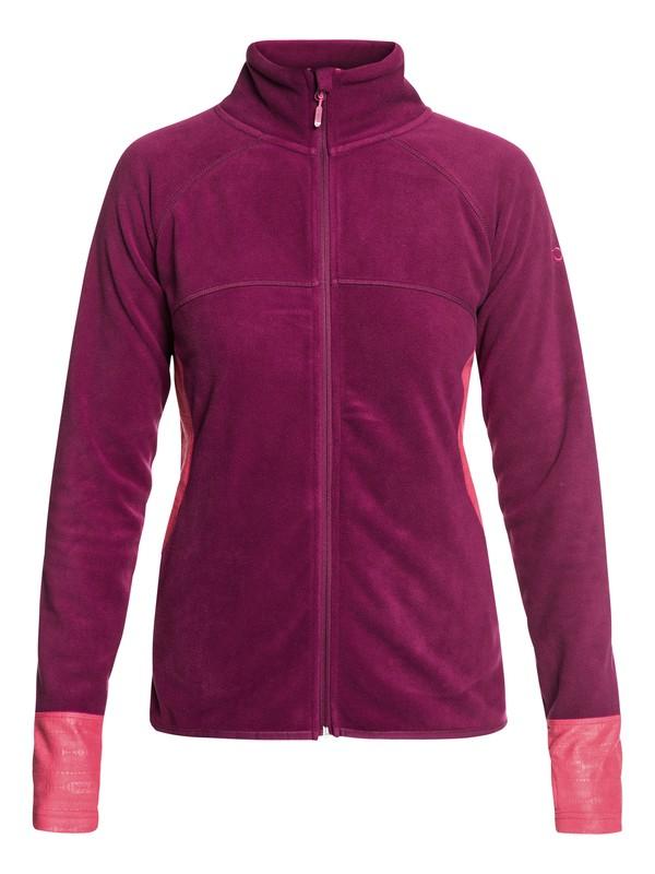 0 Harmony - Funktions-Fleece mit Reißverschluss für Frauen Rot ERJFT03857 Roxy