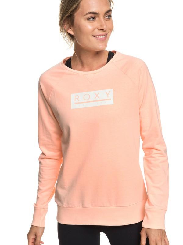 0 Summertime Legend - Sudadera para Mujer Rosa ERJFT03893 Roxy
