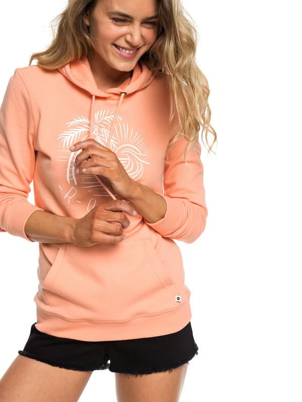 0 Secret Sands - Sweat à capuche pour Femme Rose ERJFT03932 Roxy
