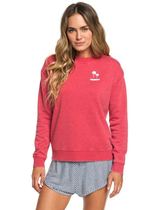 0 All At Sea A Sweatshirt Red ERJFT03950 Roxy