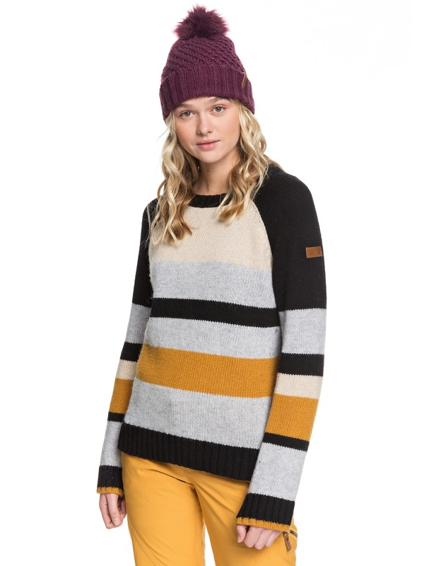 0 Cozy Sound Technical Sweater Black ERJFT03965 Roxy