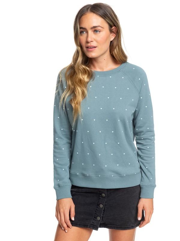 0 Night Is Young - Sweatshirt Blue ERJFT04065 Roxy