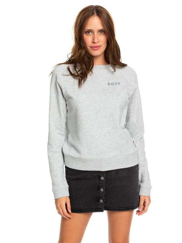 0 Stay Together Sweatshirt Grey ERJFT04066 Roxy