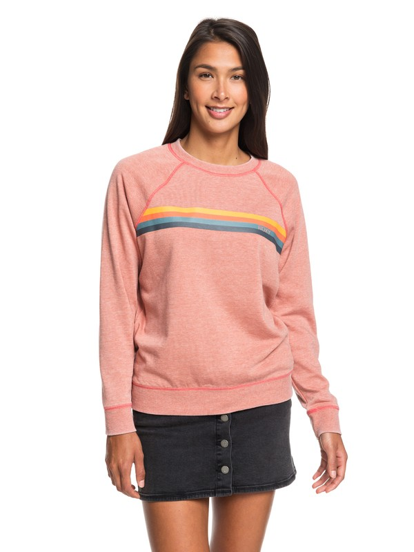 0 Wishing Away Sweatshirt Pink ERJFT04094 Roxy