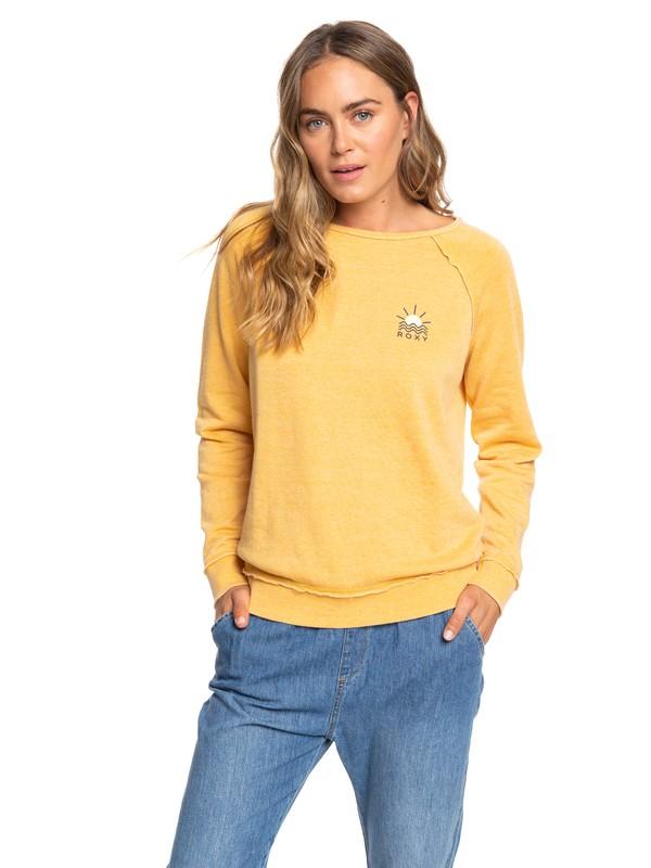 0 Pacific Highway A Sweatshirt Yellow ERJFT04116 Roxy