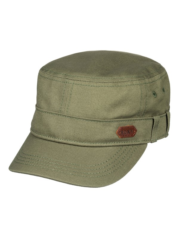 0 Castro Military Hat Green ERJHA03229 Roxy
