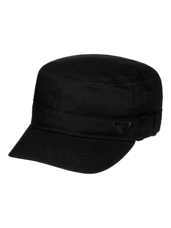 0 Castro Military Hat Black ERJHA03229 Roxy