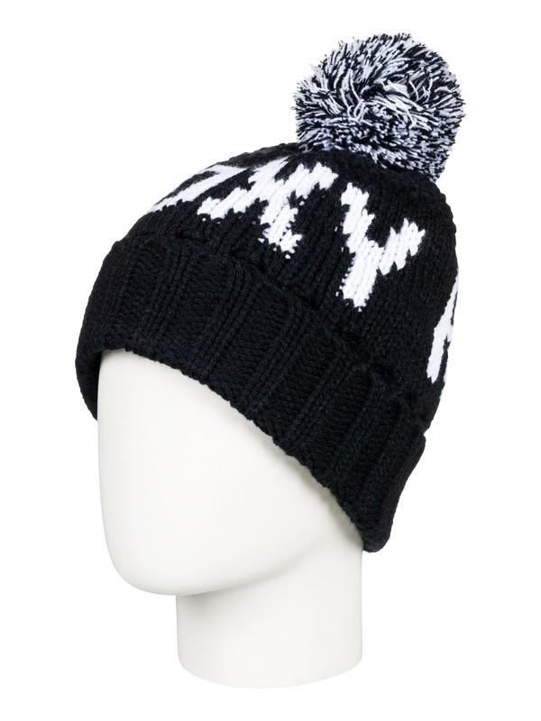0 Tonic - Bonnet avec pompon pour Femme Noir ERJHA03411 Roxy