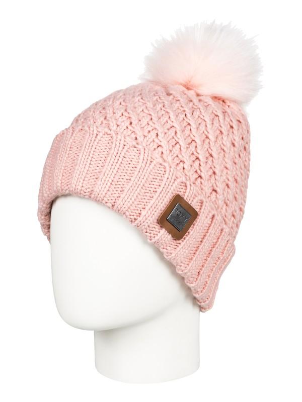 0 Blizzard Pom-Pom Beanie Pink ERJHA03412 Roxy