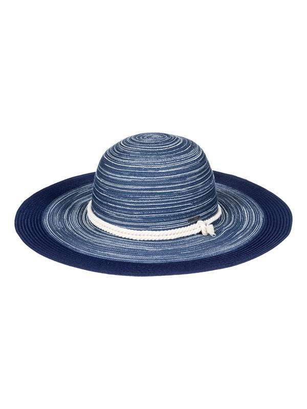 0 Ocean Dream - Chapeau de paille pour Femme Bleu ERJHA03417 Roxy