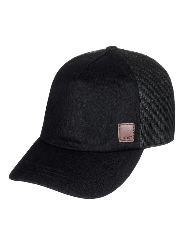 0 Incognito Straw Back Trucker Hat  ERJHA03438 Roxy
