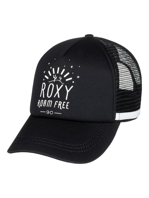 0 Dig This Trucker Hat Black ERJHA03441 Roxy