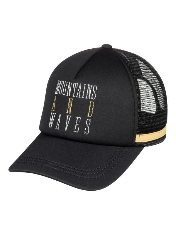 0 Dig This Trucker Hat Black ERJHA03475 Roxy