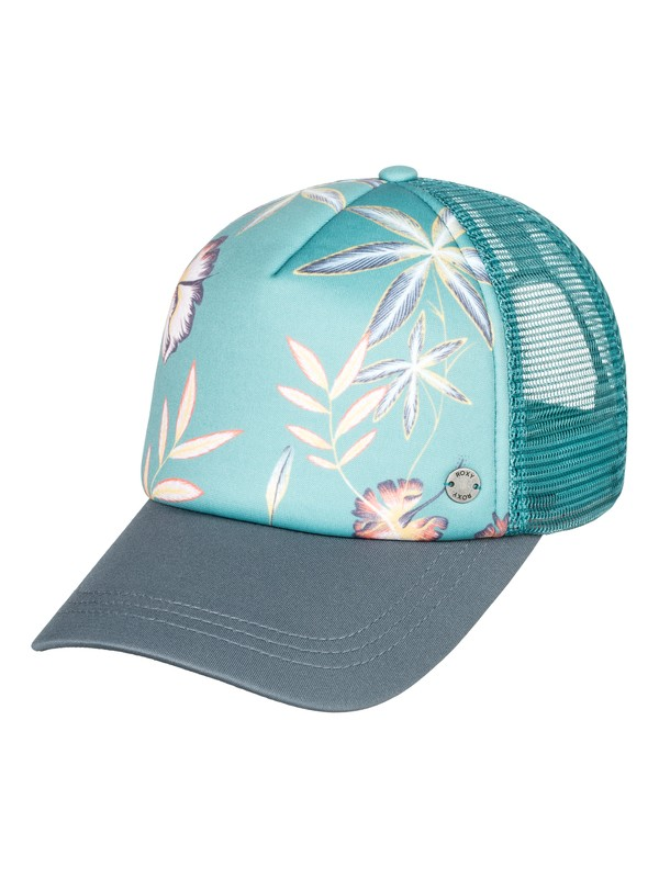 0 Water Come Down Trucker Hat  ERJHA03478 Roxy