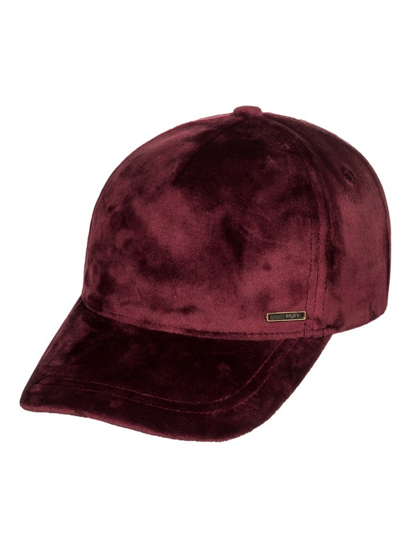 0 Southset Velvet Baseball Hat Red ERJHA03480 Roxy