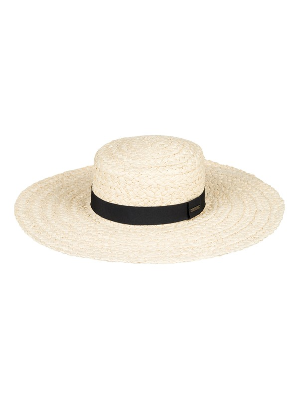 0 Poetic View Straw Sun Hat Yellow ERJHA03496 Roxy