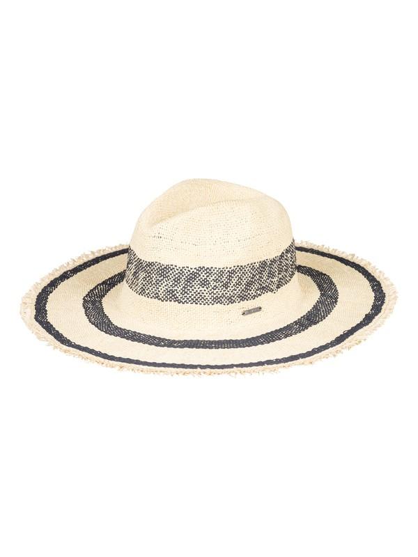0 Sound Of The Ocean Straw Sun Hat Blue ERJHA03522 Roxy