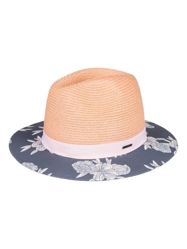 0 Youhou - Sombrero Protector de Paja para Mujer Negro ERJHA03529 Roxy