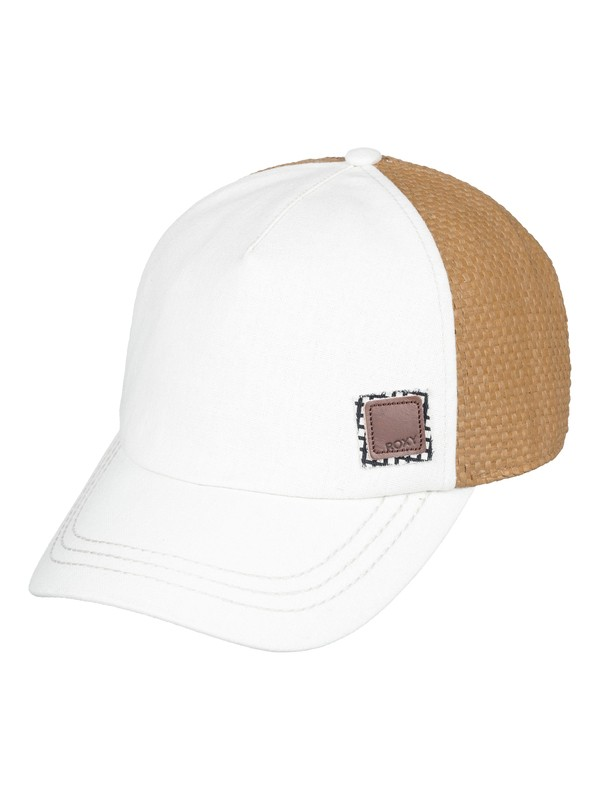 0 Incognito Trucker Hat White ERJHA03543 Roxy