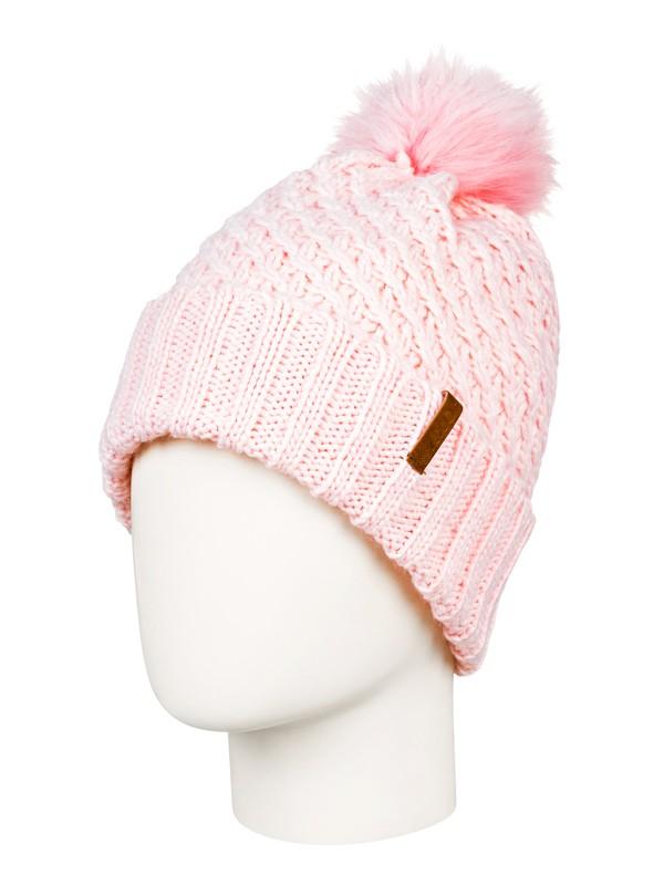 0 Blizzard Pom-Pom Beanie Pink ERJHA03555 Roxy