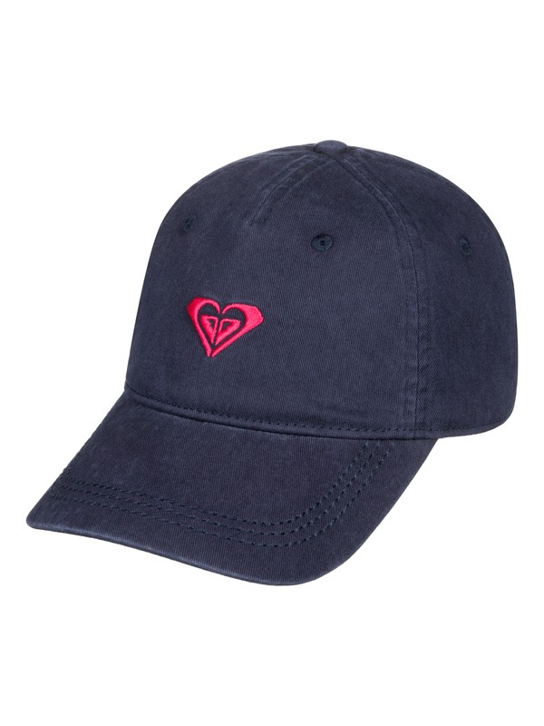 0 Dear Believer Logo Baseball Hat Blue ERJHA03576 Roxy