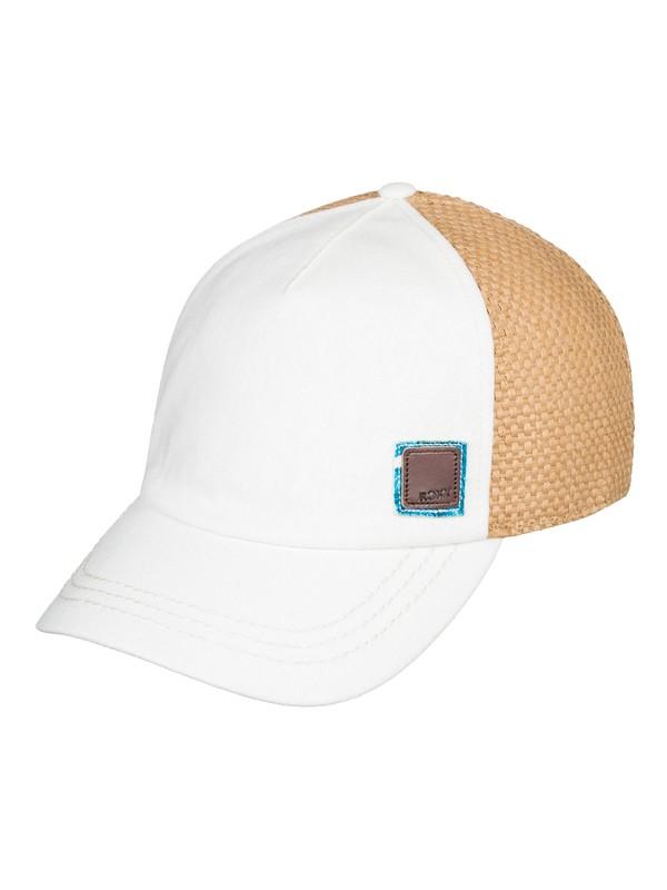 0 Incognito Trucker Hat White ERJHA03580 Roxy