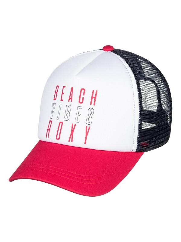 0 Truckin Trucker Hat Pink ERJHA03582 Roxy