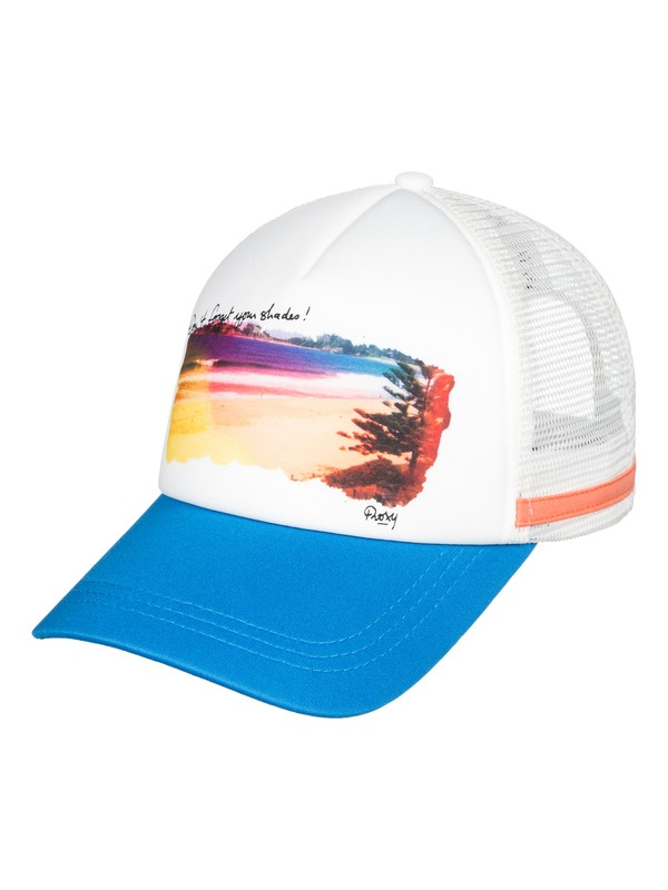 0 Dig This Trucker Hat Blue ERJHA03583 Roxy