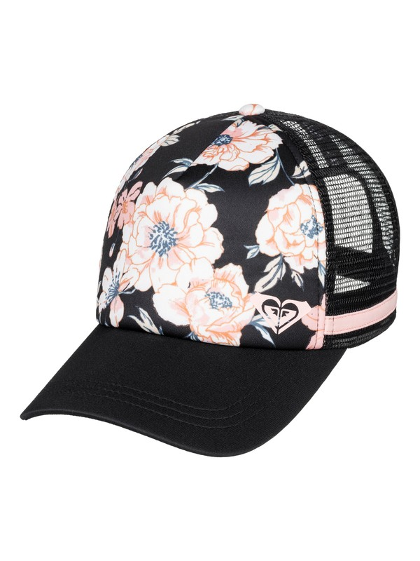 0 Dig This Trucker Hat Black ERJHA03583 Roxy