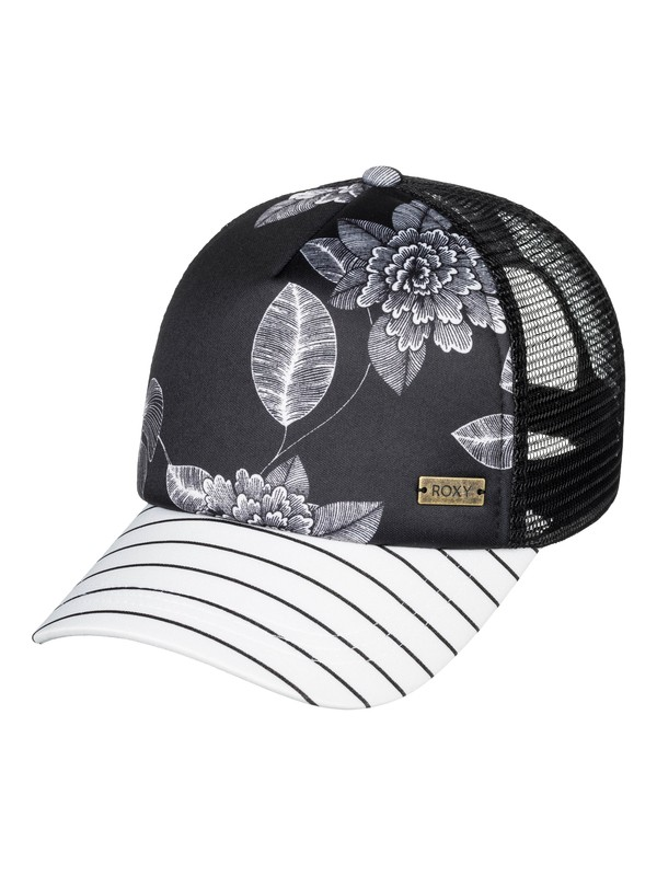 0 Water Come Down Trucker Hat Black ERJHA03585 Roxy
