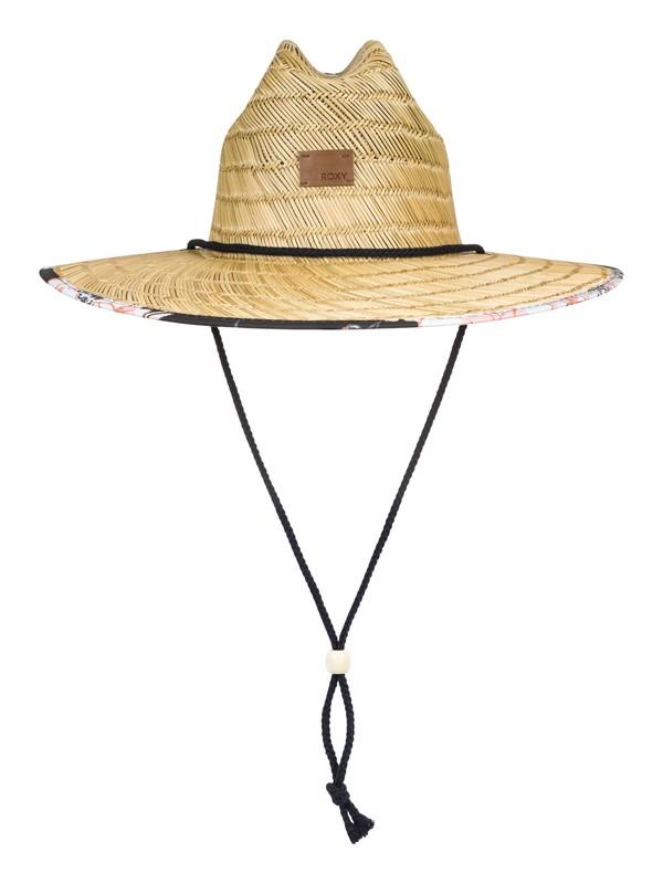 0 Tomboy Straw Sun Hat Black ERJHA03589 Roxy
