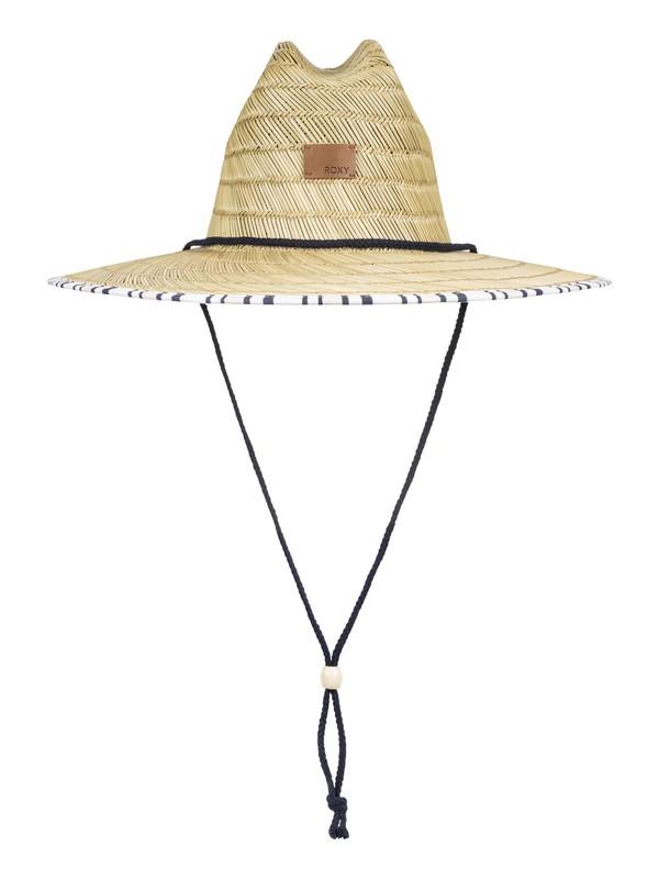 0 Tomboy Straw Sun Hat White ERJHA03589 Roxy