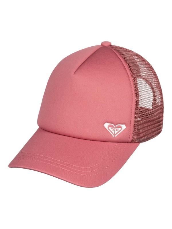 0 Finishline Trucker Hat Pink ERJHA03605 Roxy
