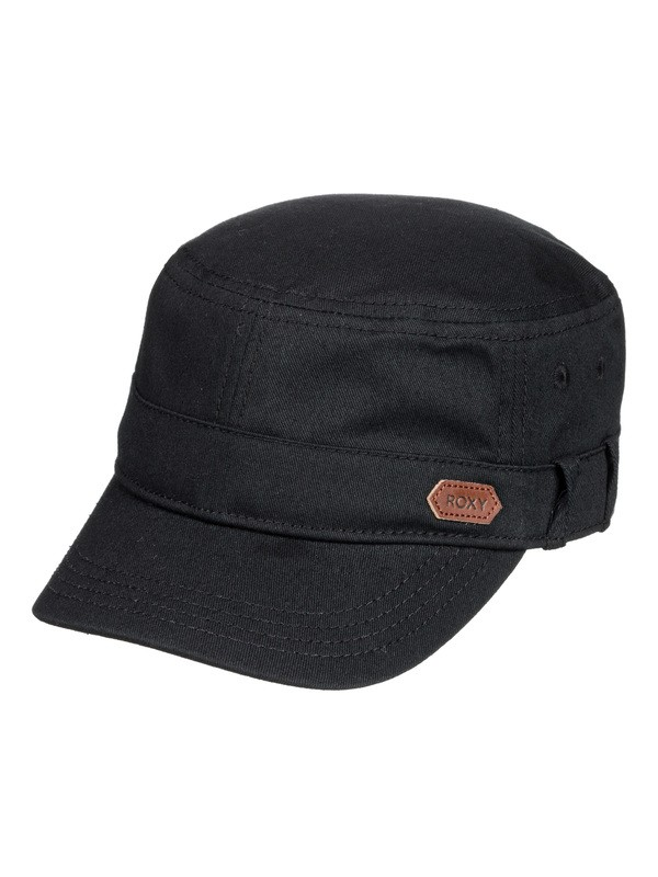 0 Castro Military Hat Black ERJHA03608 Roxy