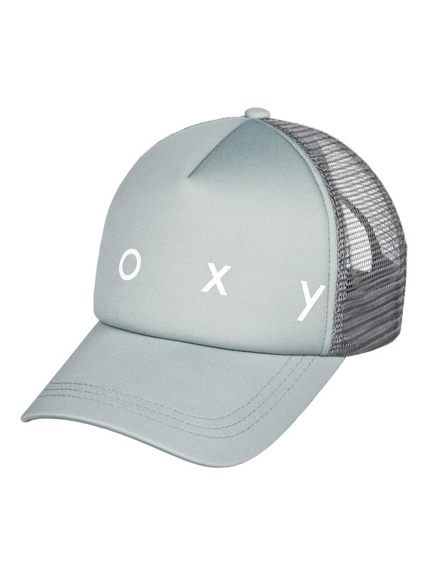 0 Truckin Color Trucker Hat Blue ERJHA03610 Roxy